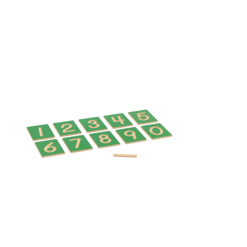Hollow Number Shapes: US Version