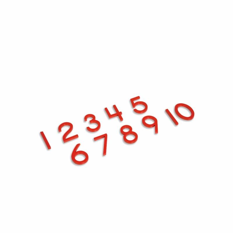 Cut-Out Numerals: US Version