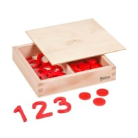 Cut-Out Numerals And Counters: International Version