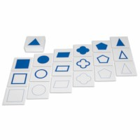 Geometric Form Cards