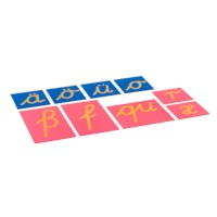 Sandpaper Letters: German Cursive - Supplement Set