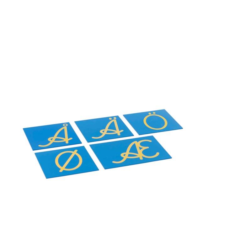 Sandpaper Capitals: Nordic Cursive - Supplement Set
