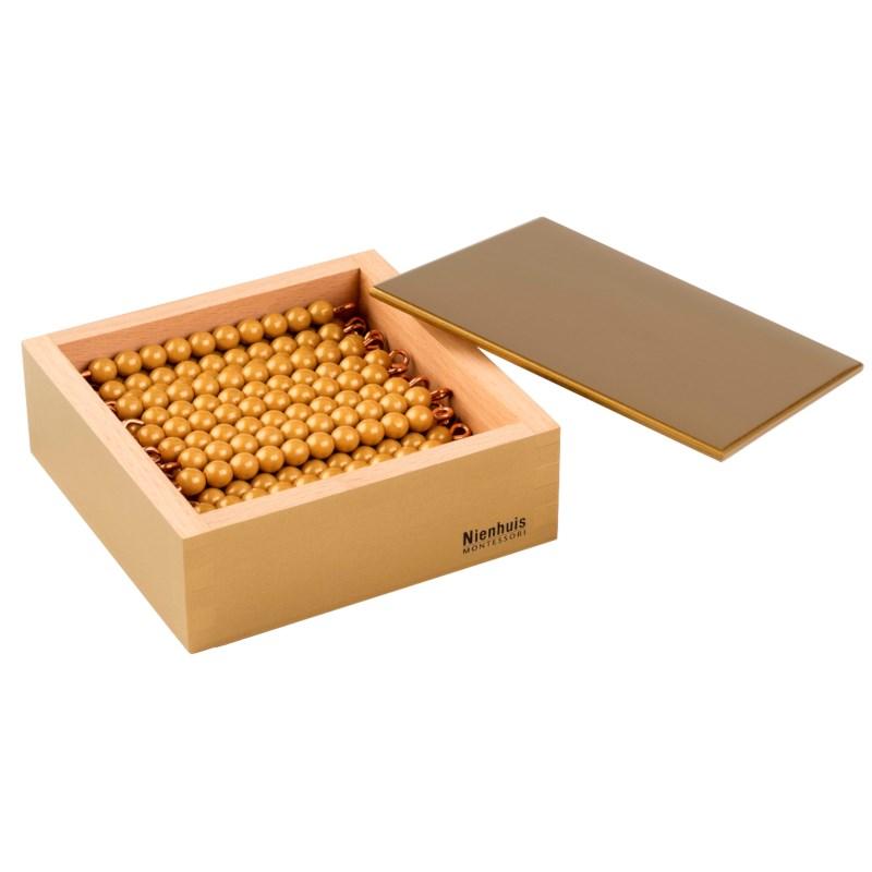 45 Golden Bars Of 10 In Box: Individual Beads (Nylon)
