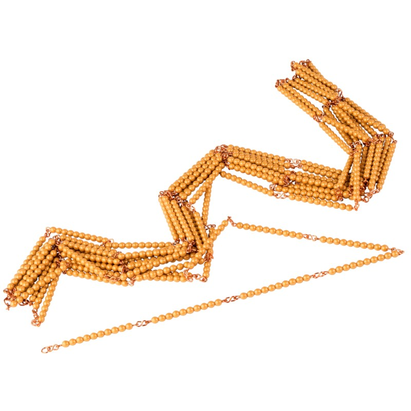 Golden Bead Chain Of 1000: Individual Beads (Nylon)