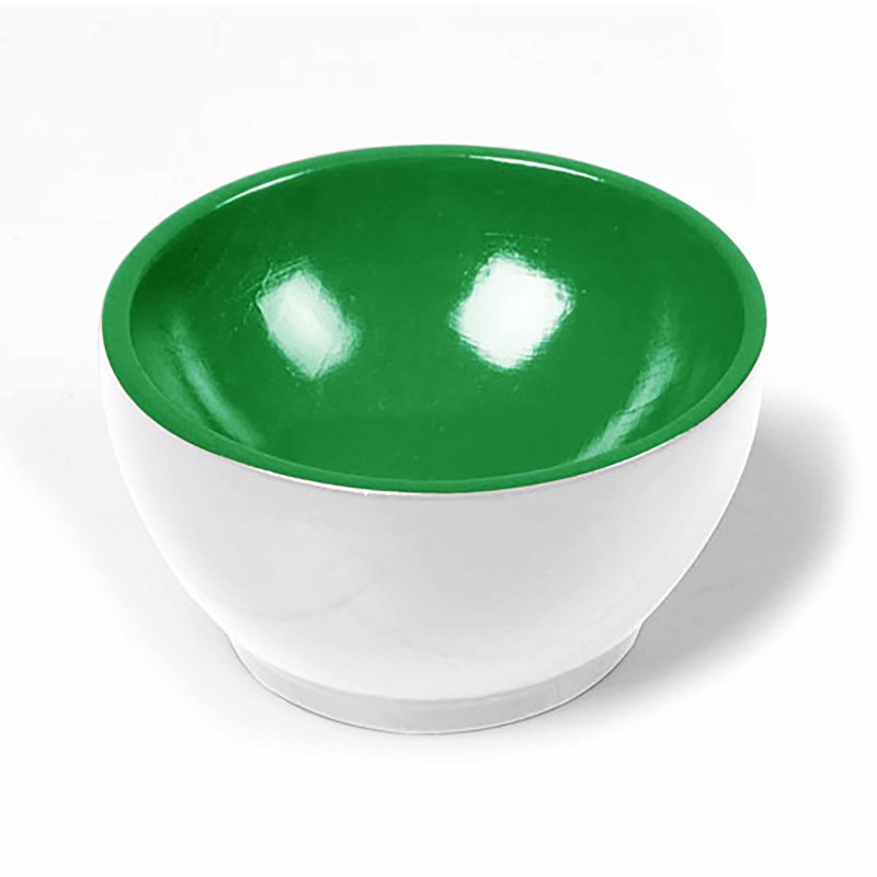 Wooden Cup: White / Green