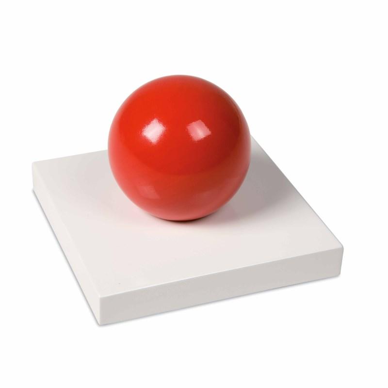 3D Wooden Grammar Symbol: Verb