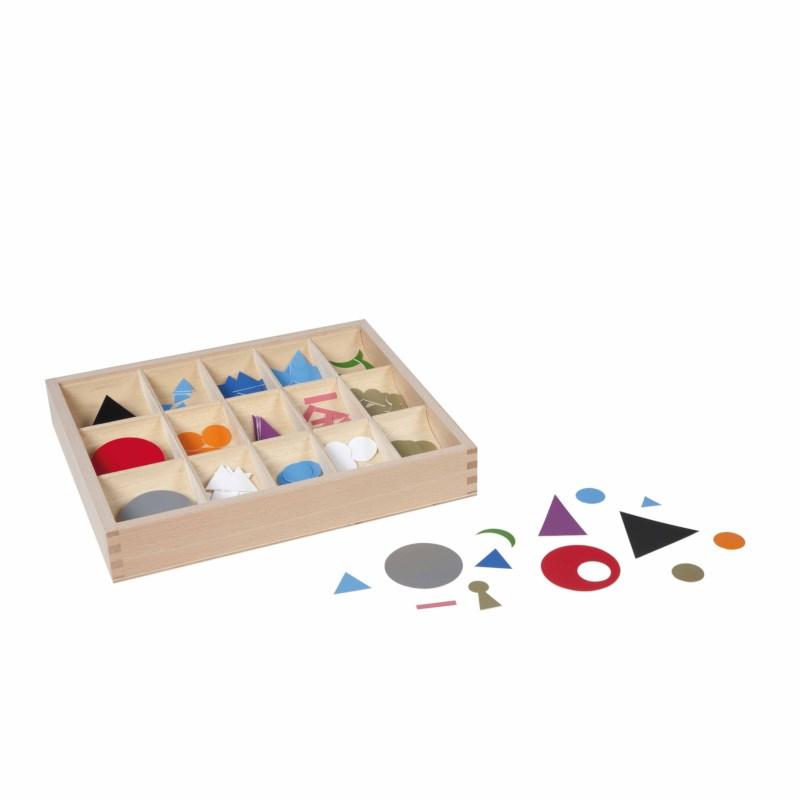 Plastic Grammar Symbols In Box