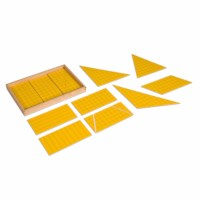 Yellow Triangles For Area