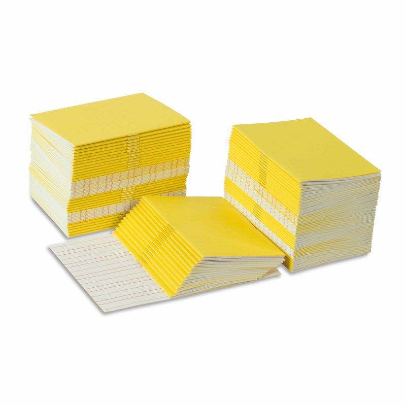Writing Booklets: Yellow – Small (100)