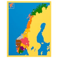 Puzzle Map: Norway