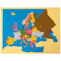 Puzzle Map: Europe