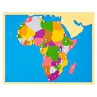 Puzzle Map: Africa