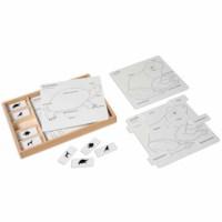 Animal Puzzle Activity Set (German version)