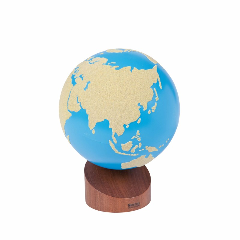 Globe Of Land And Water: Sandpaper