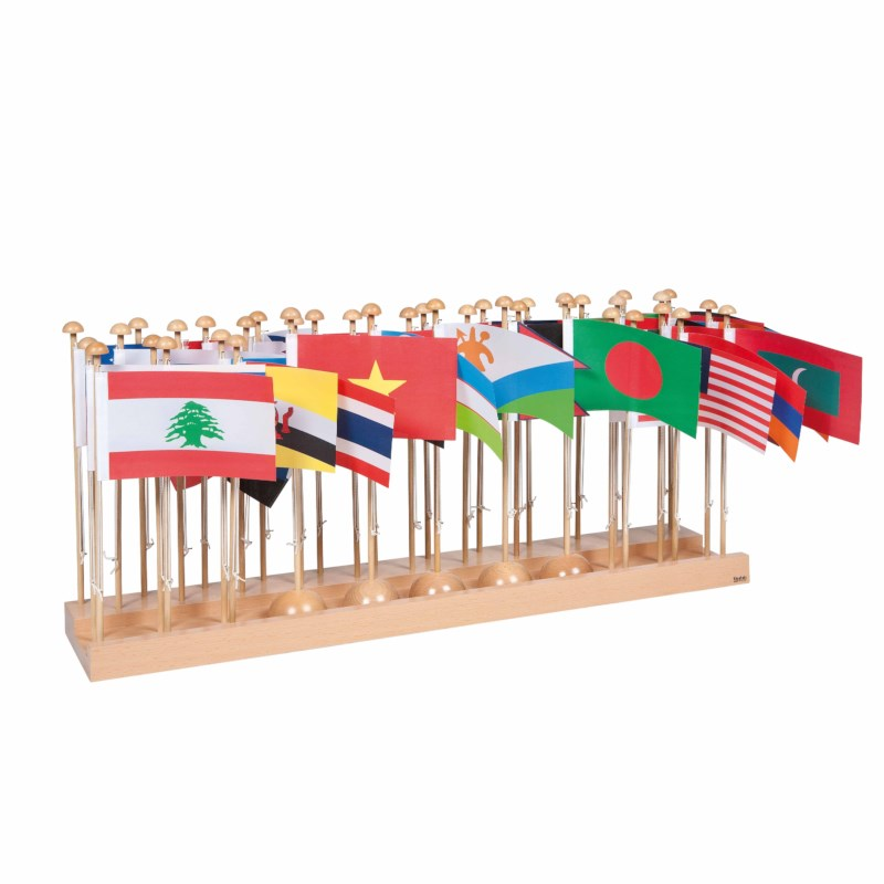 Flag Stand Of Asia
