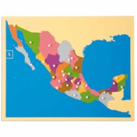 Puzzle Map: Mexico