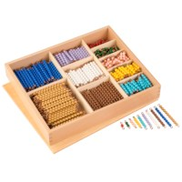 Multiplication Bead Bar Layout Box: Individual Beads (Nylon)