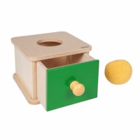 Imbucare Box With Knit Ball