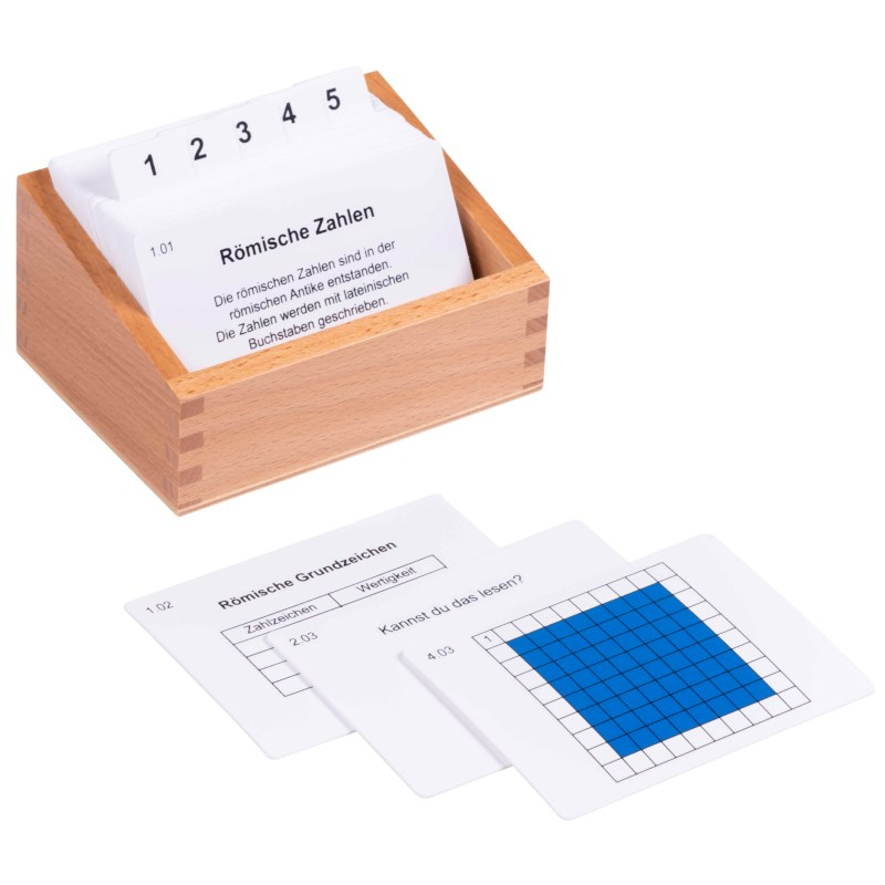 Roman Numerals Activity Set (German version)