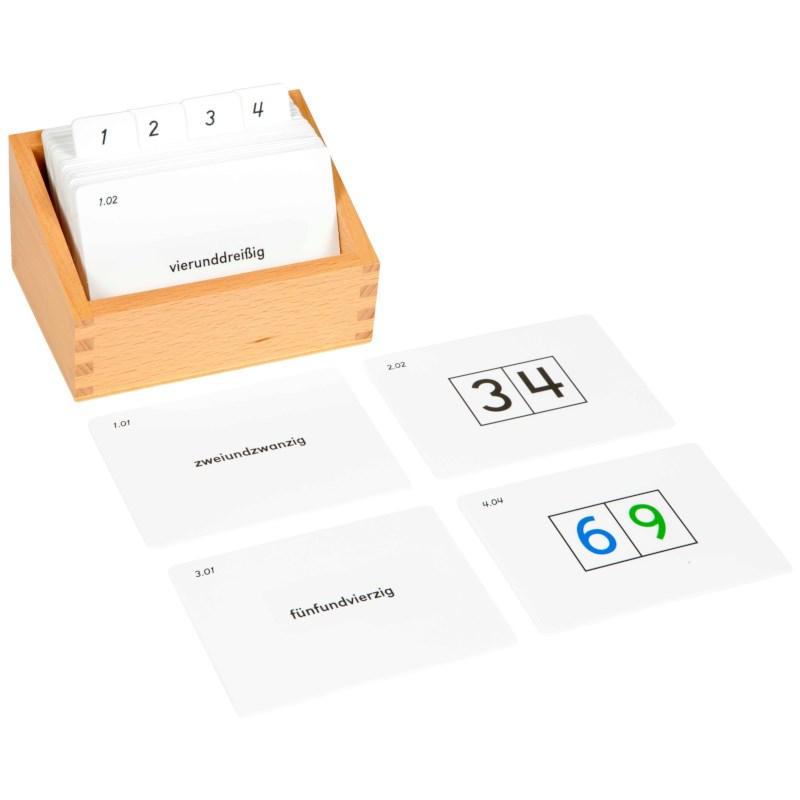 Tens Boards Activity Set (German version)