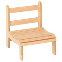 Slatted Chair: Low