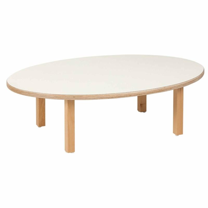 19fb5d5a40a66 Toddler Group Table  Oval (100 x 62 x 31 cm)