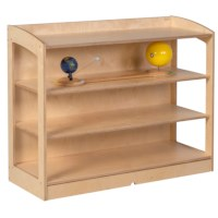 Material Cabinet: open back