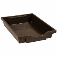 Gratnells Tray: Brown (7 cm)