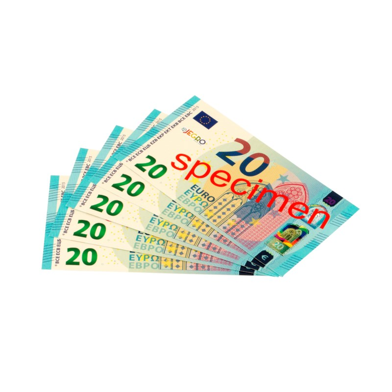 Euro banknotes 20 euro