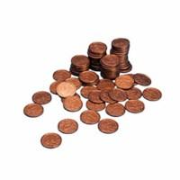 Euro coins 1  euro cent