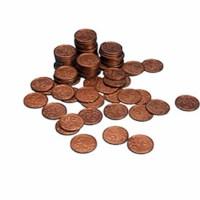 Euro coins 5 euro cent