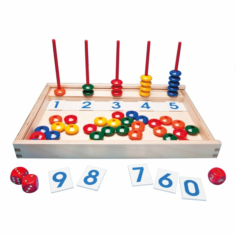 Magnetic number game