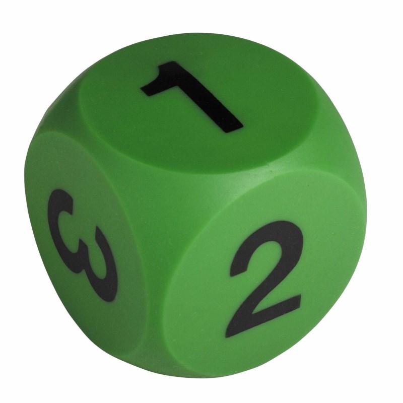 Number die green