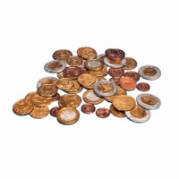 Euro coins set