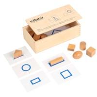 Tactile material - geometric shapes