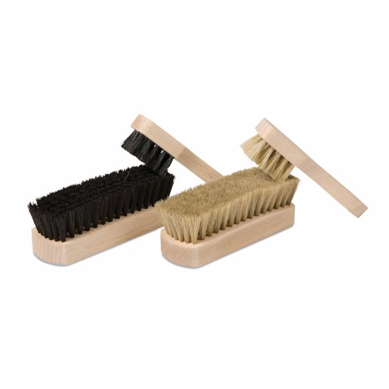 Shoe Polishing Brush Set: 4 Brushes
