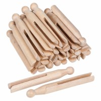 Wooden Cloth Pegs (25)
