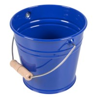 Small Metal Bucket (Blue)