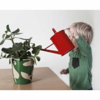 Small Watering Can (Red)