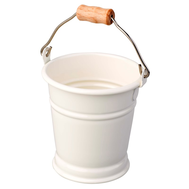 Mini Bucket: White