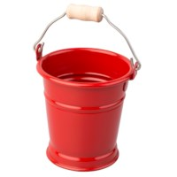 Mini Bucket: Red