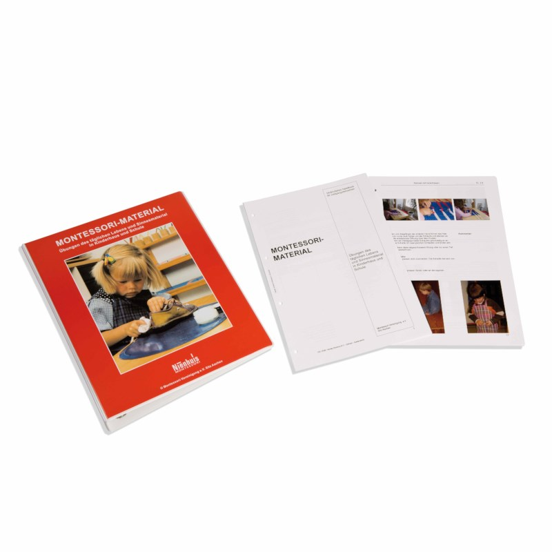 Montessori Materials Book 1 (German version)