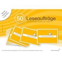 50 Leseaufträge in der Box (German version)