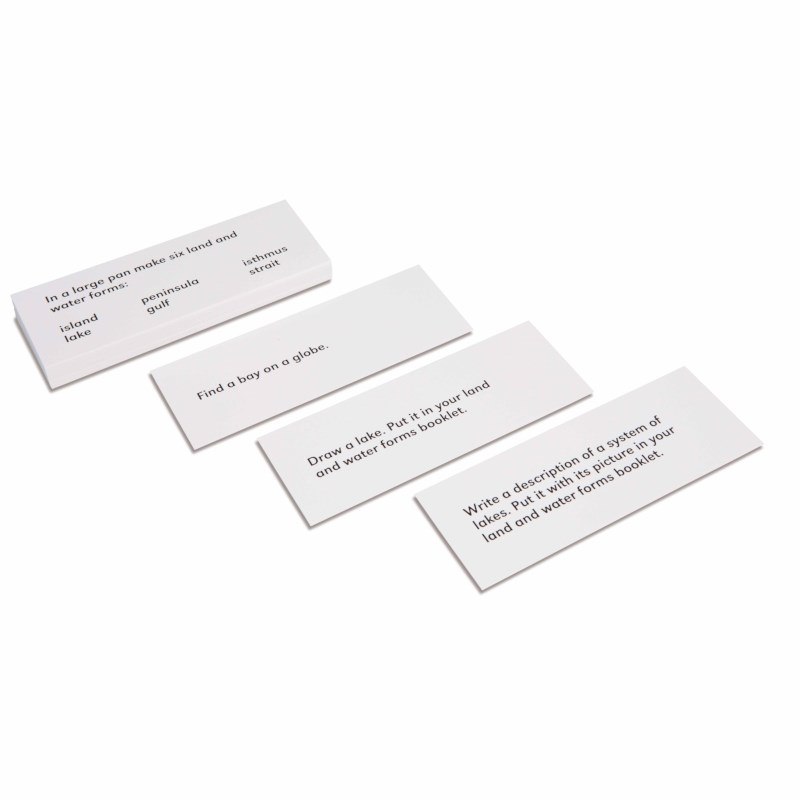Land And Water Forms: Command Cards