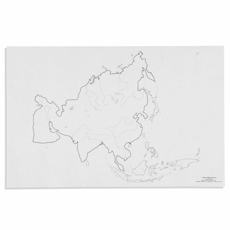Asia: Waterways (50)