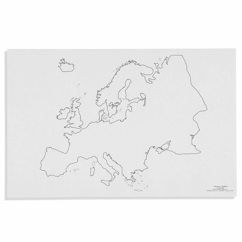 Europe: Outline (50)