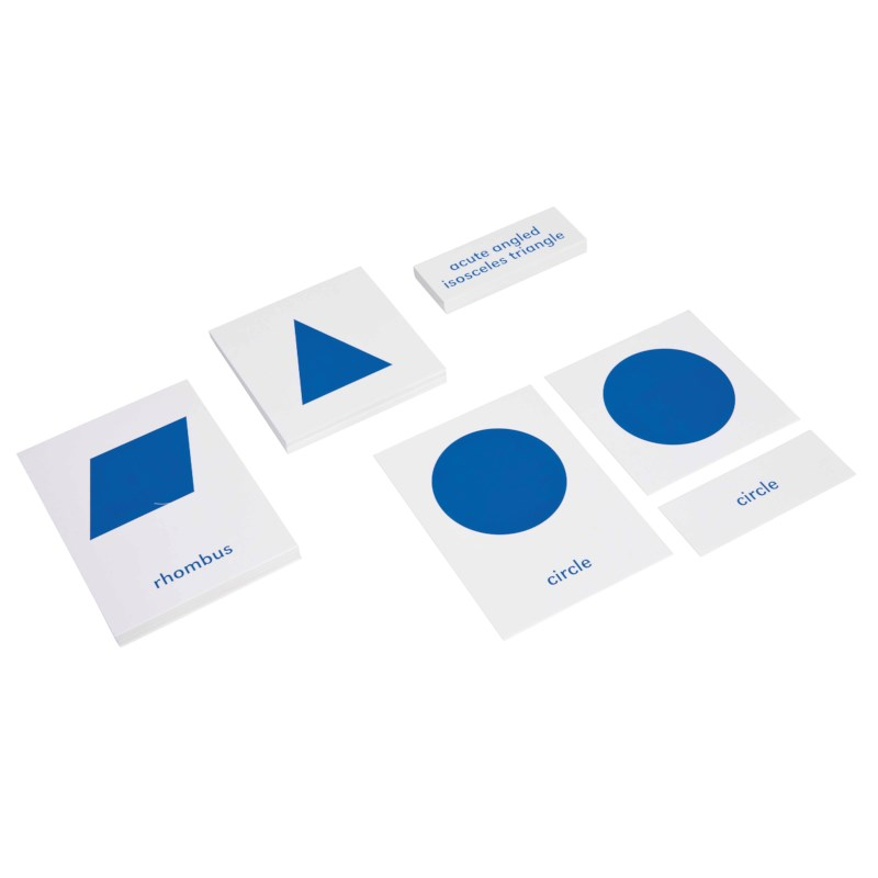 Geometric Cabinet Nomenclature Cards