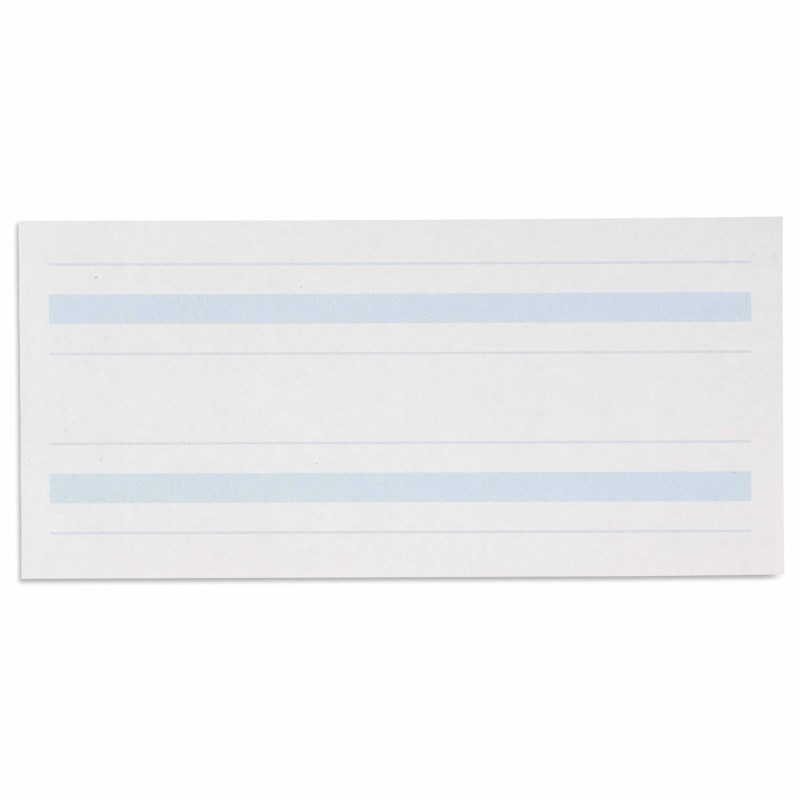 Writing Paper: Blue Lines – 4 x 8.5 in – (500)