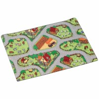 Traffic play mat farm 150 x 200 cm