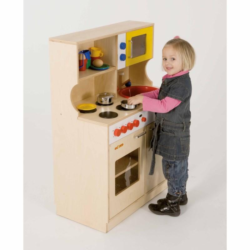 Kitchen centre wood